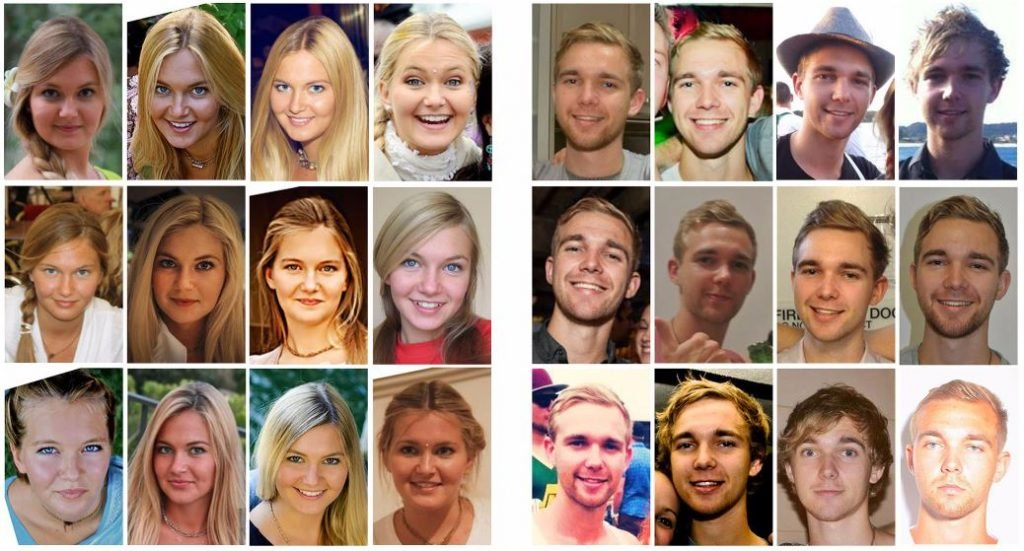 실험에 사용된 사진, Daily Mail