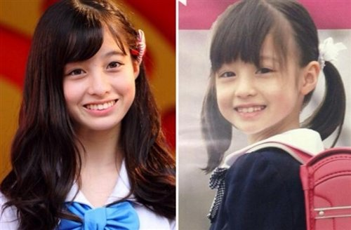 Image result for 橋本環奈 子ども