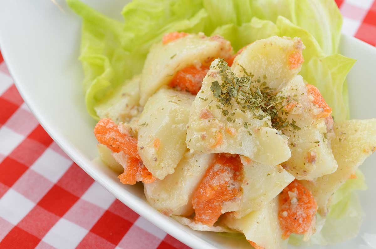 "recipe img04.jpg?resize=1200,630 - ポテトもマヨもハイカロリー!ポテトサラダは""野菜""じゃない!"