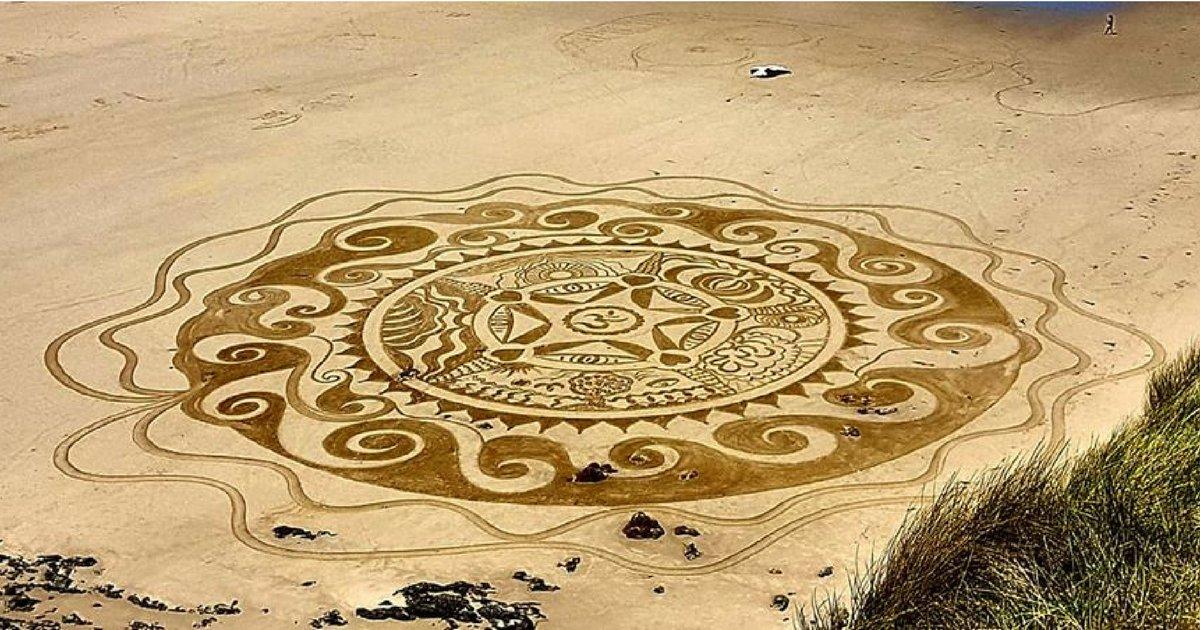 sans titre 2 1.png?resize=1200,630 - Bretagne : une artiste crée des œuvres fascinantes sur la plage