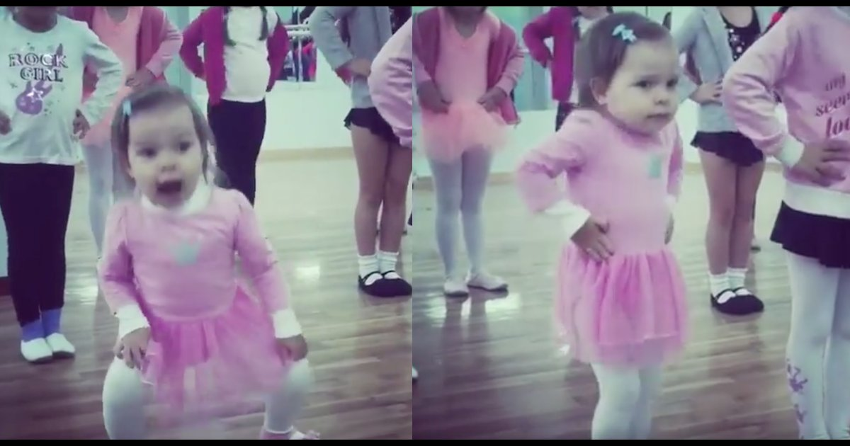 sdfsdf 2.png?resize=1200,630 - Toddler Ballets In Adorable Pink Tutu, And Becomes A Viral Sensation Worldwide