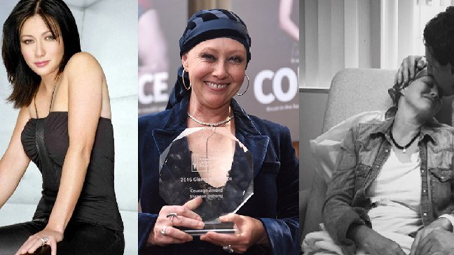 shannendoherty.jpg?resize=648,365 - Son cancer en rémission, Shannen Doherty rayonne