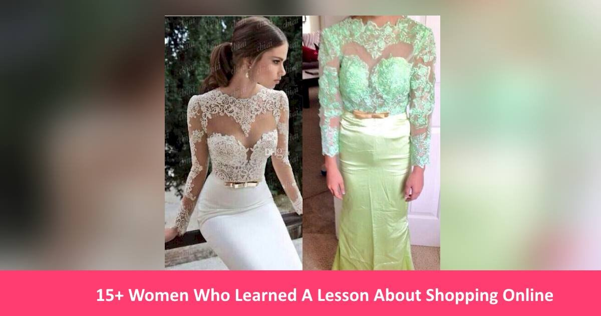shoppingonline - 15+ Women Who Learned A Lesson About Shopping Online