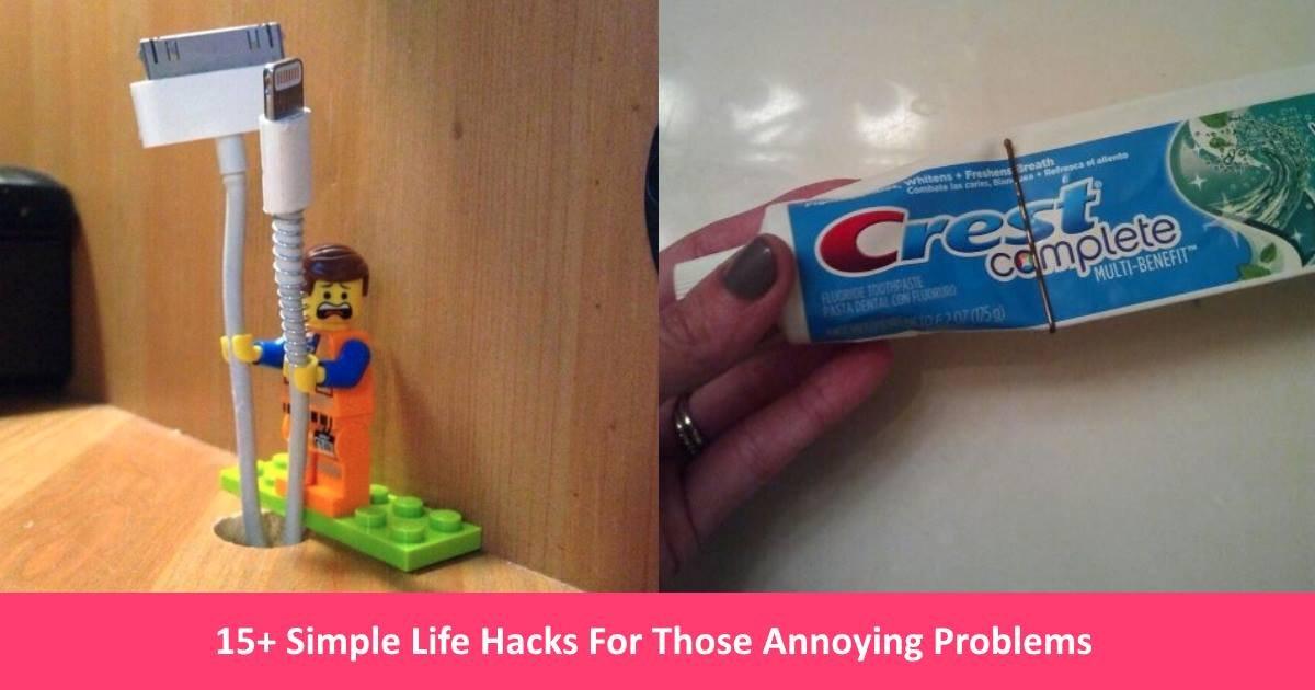 simplelifehacks.jpg?resize=300,169 - 15+ Simple Life Hacks For Those Annoying Problems