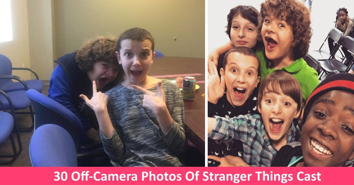strangerthings - 30 Off-Camera Photos Reveal What The Cast Of 'Stranger Things' Are Really Like