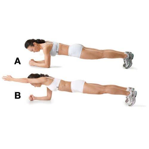 tipos-de-ejercicios-plancha-con-levantamiento-de-brazo