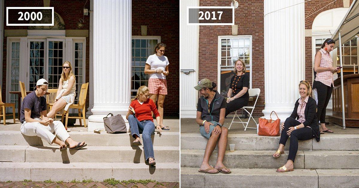 tntn - Comparando o visual das pessoas em 2000 com as mudanças sofridas em 2017