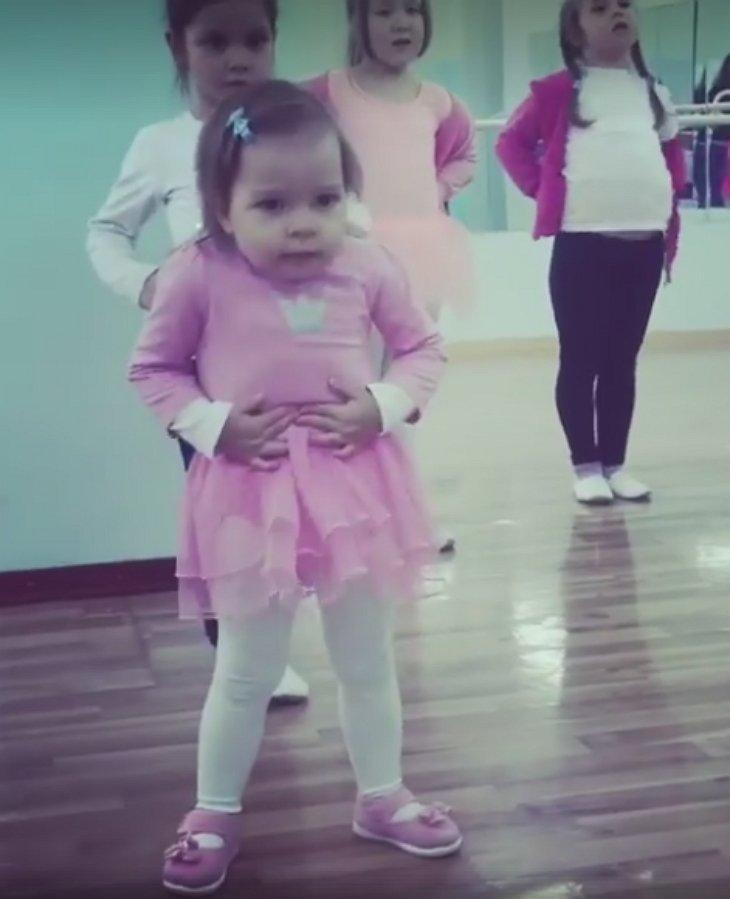 toddler in pink tutu dancer3 - Toddler Ballets In Adorable Pink Tutu, And Becomes A Viral Sensation Worldwide