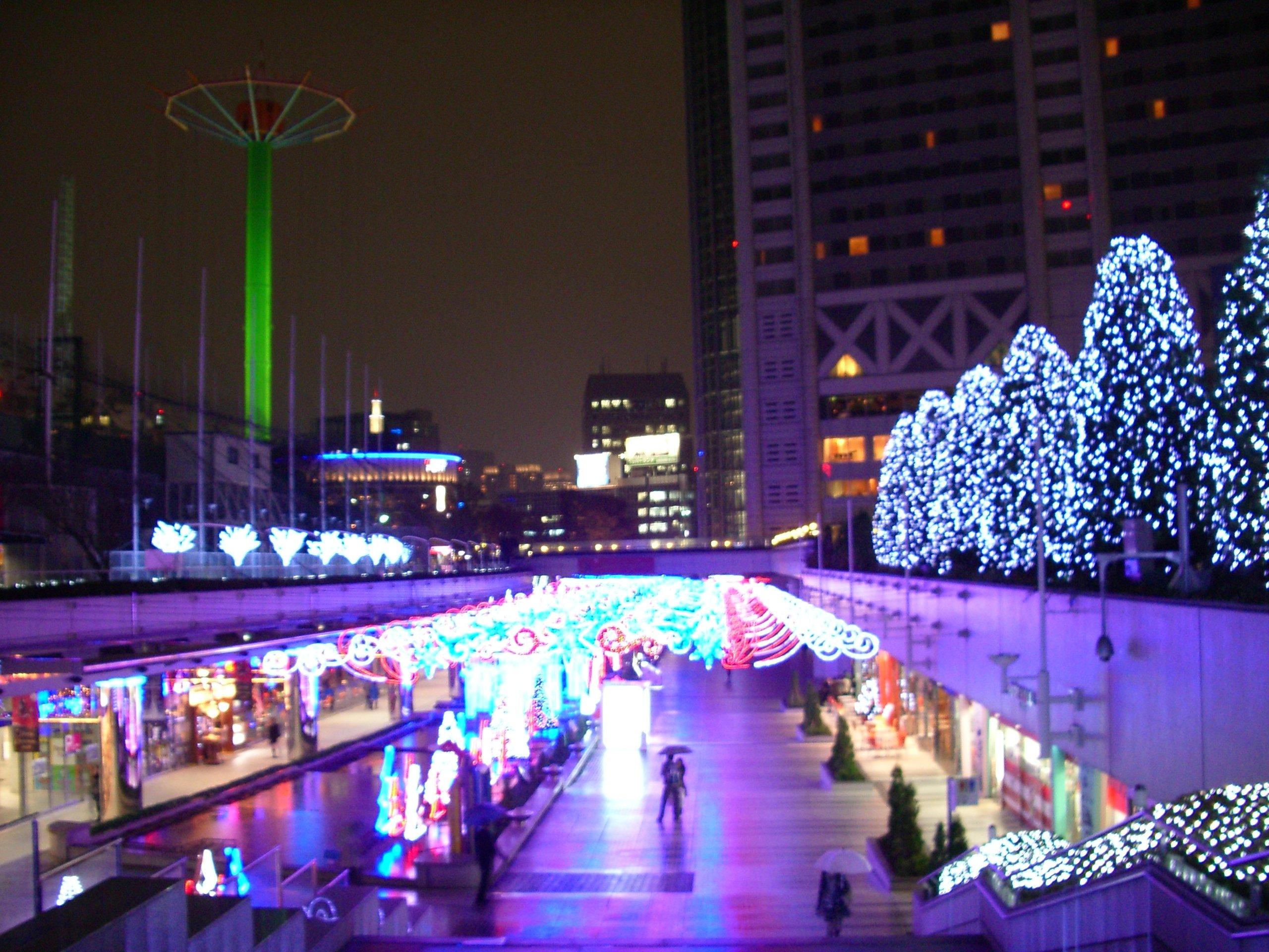 東京ドームシティ クリスマス
