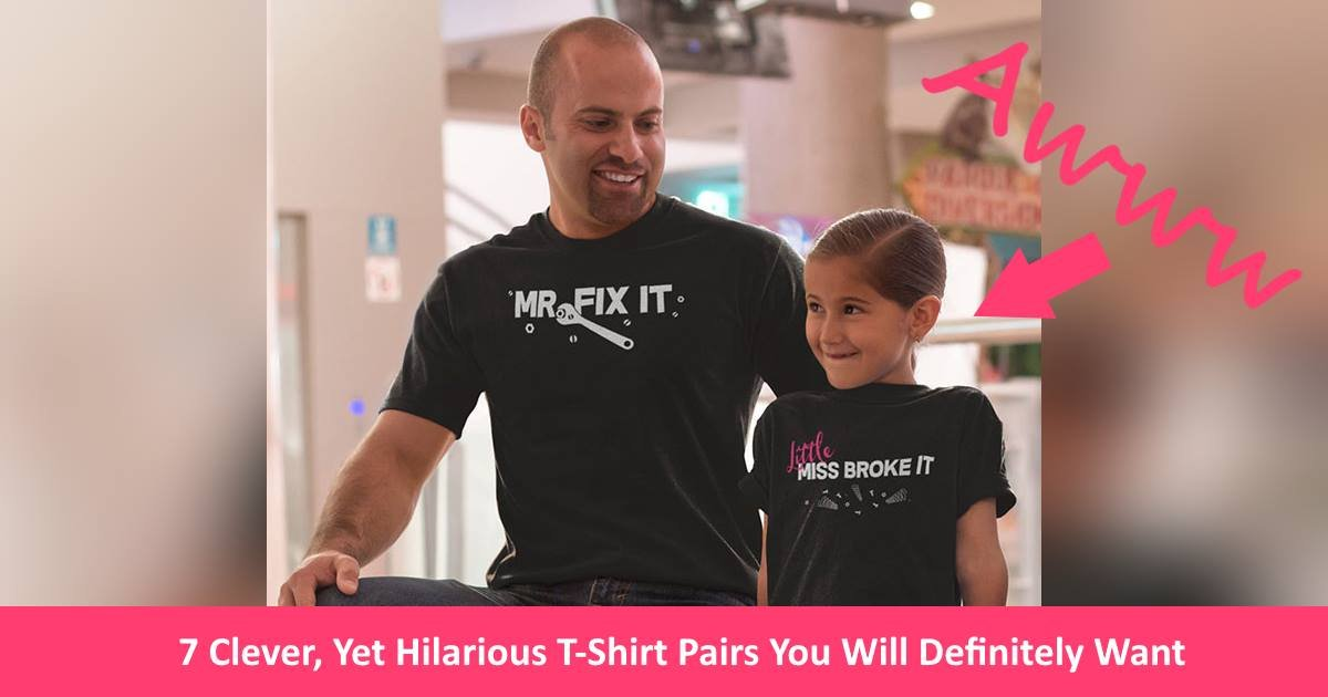 tshirtpairs.jpg?resize=300,169 - 7 Clever, Yet Hilarious T-Shirt Pairs You Will Definitely Want To Get