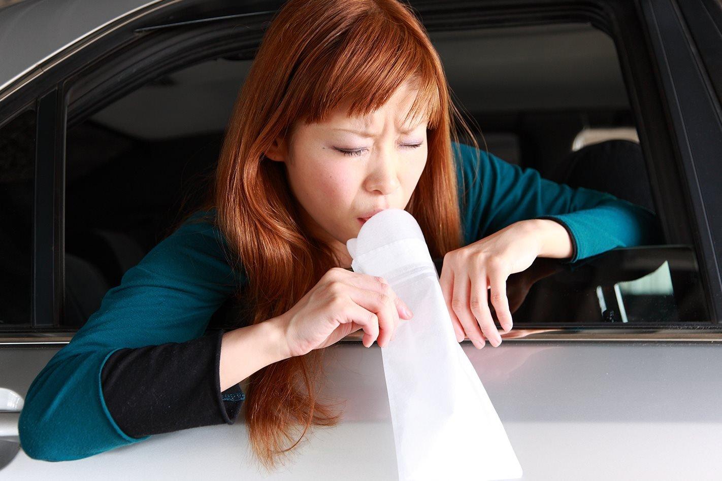 woman-feeling-car-sick