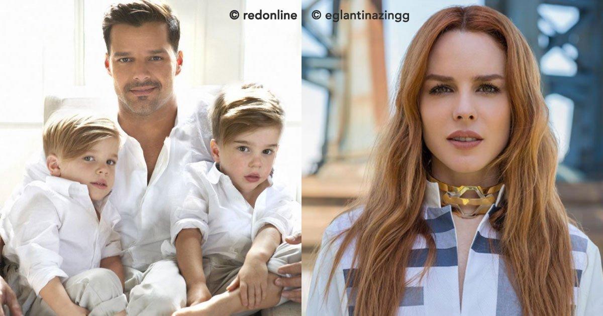 1 163.jpg?resize=1200,630 - Se especula quién es la madre de los hijos de Ricky Martin, se dice que es una amiga cercana del cantante.
