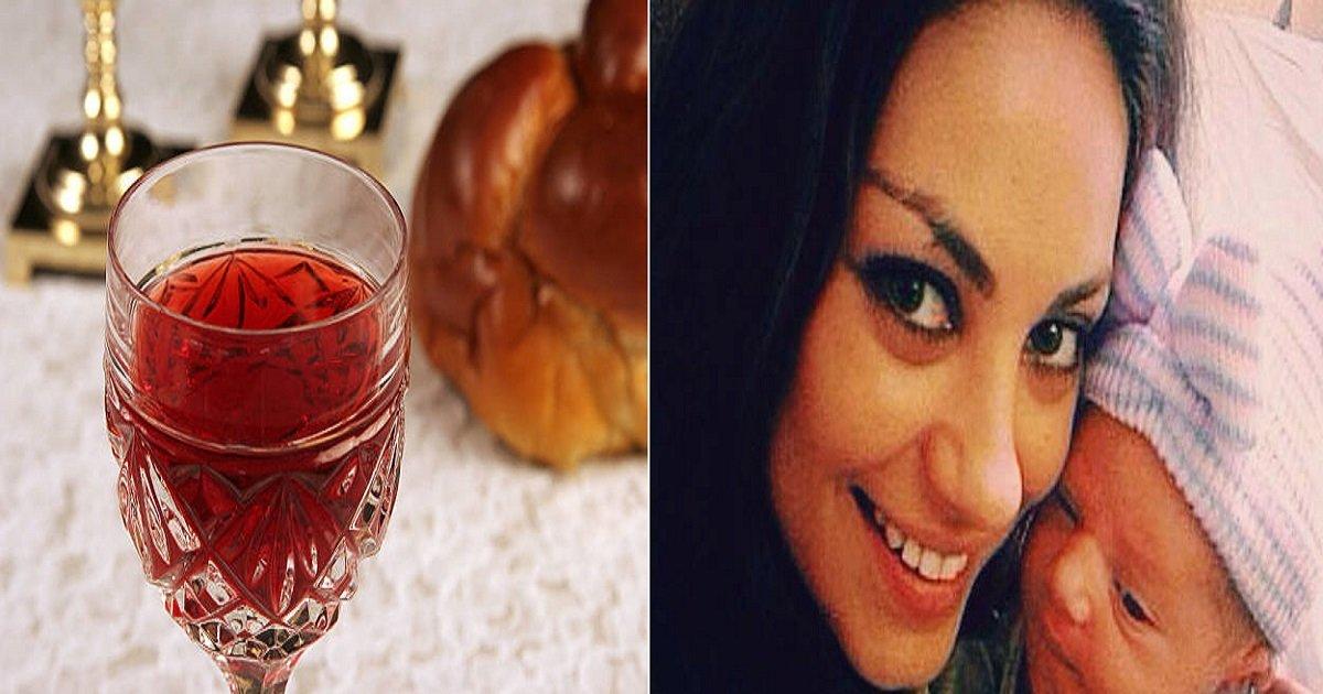 115875356.jpg?resize=412,232 - Atriz é criticada por deixar a filha beber vinho desde que nasceu