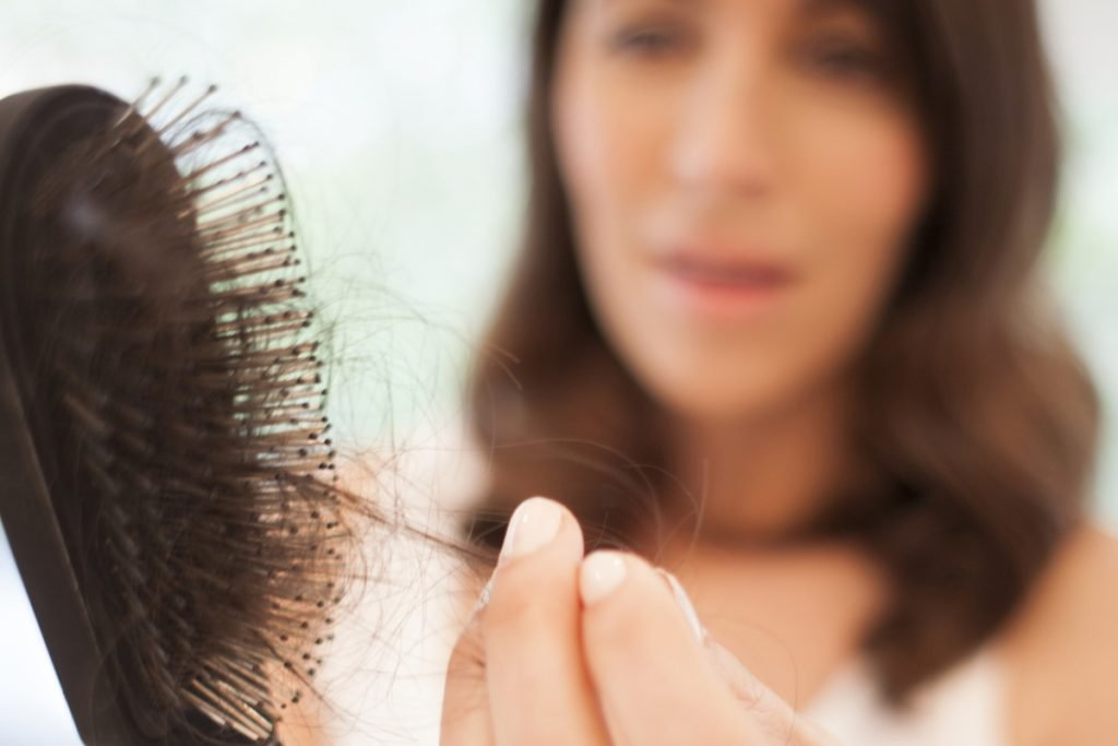 Hair loss in pregnancy