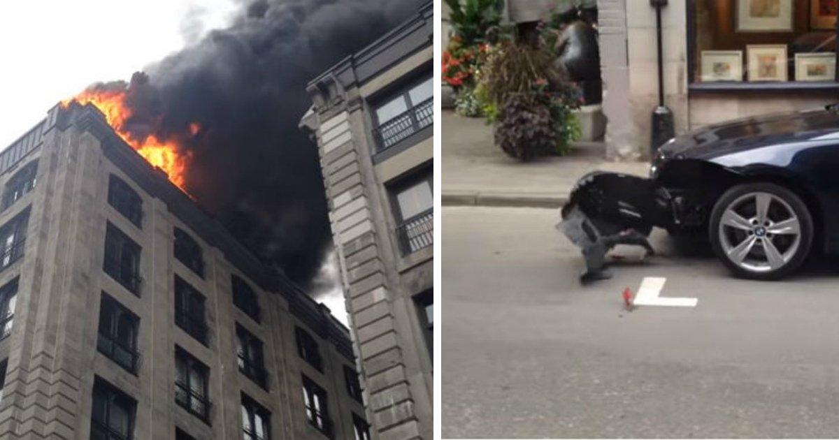 2 250.jpg?resize=1200,630 - '불법주차' BMW 박살내고 화재진압을 위해 달려가는 캐나다 소방차 (영상)