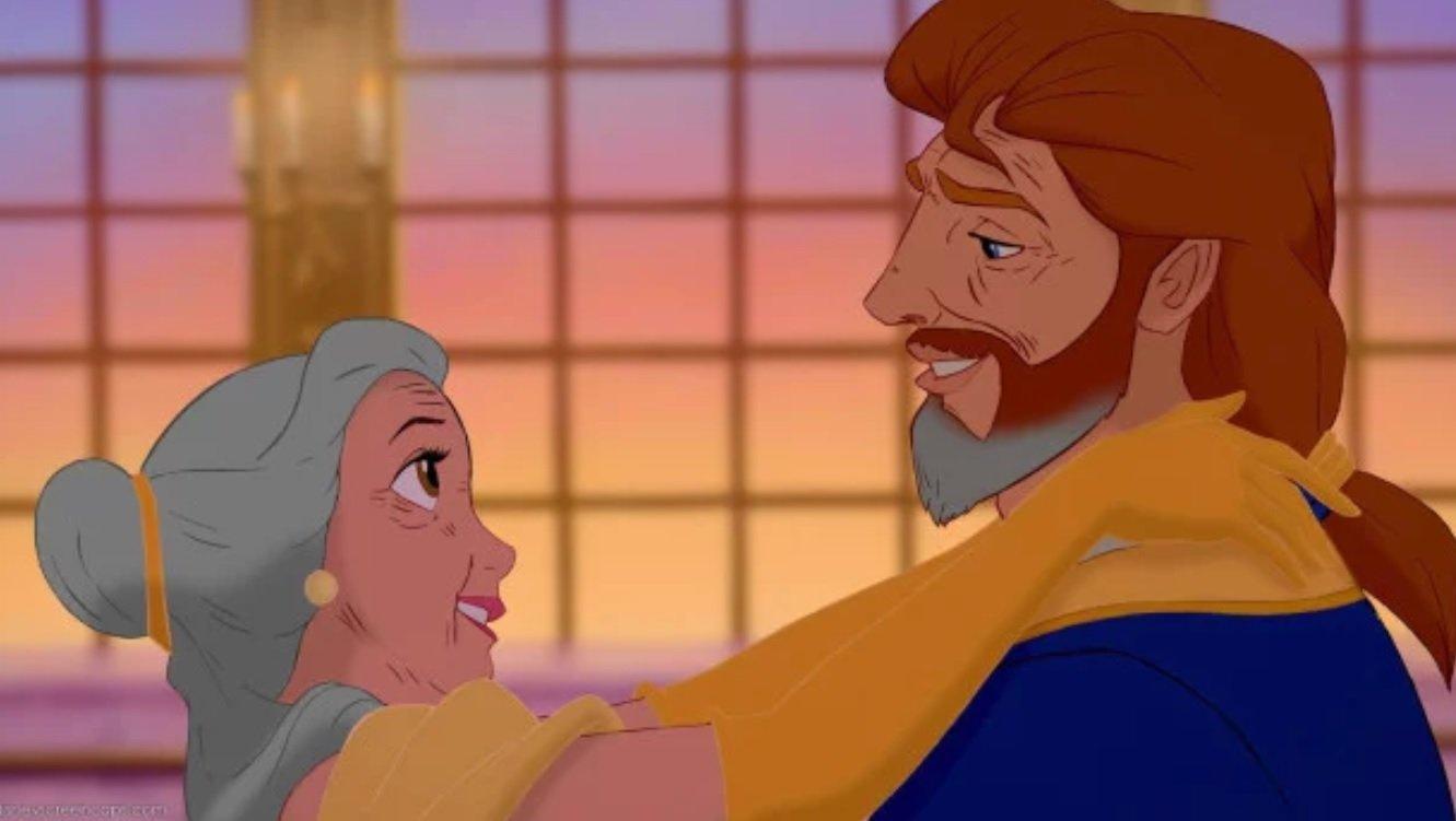 2 75 - ¡Mira Cómo Se Verían Tus Parejas Preferidas De Disney Si Envejecieran!