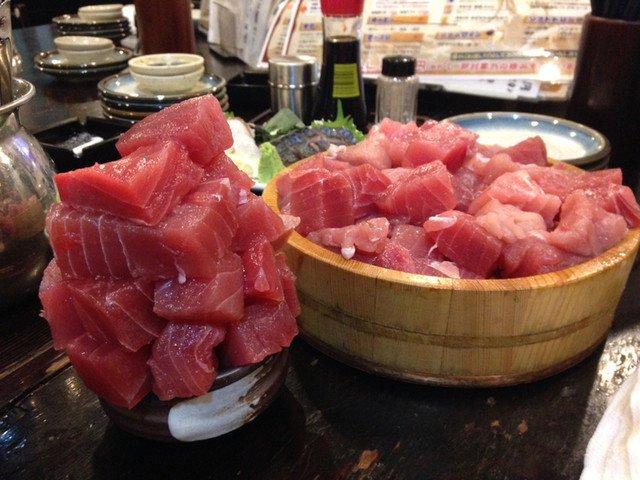 217 3.jpg?resize=1200,630 - アジじゃないよ!横浜の海鮮居酒屋『魚参』の名物はまぐろブツ盛り