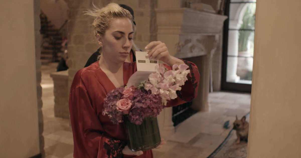 22 gaga flowers doc w600 h315 2xhhh.jpg?resize=412,232 - Woman Received A Bunch Of Roses, She Then Found Out The Flowers Were For Her DOG