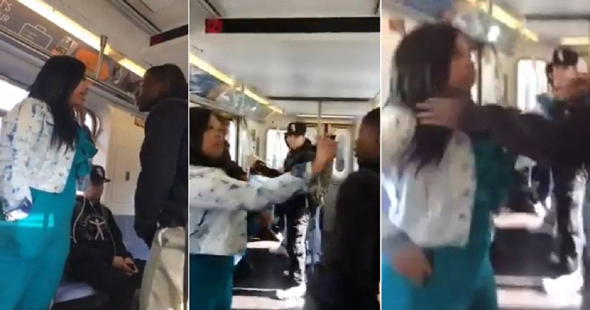 287e213800000578 3074673 an altercation on a new york subway train ended when a woman spr a 48 1431180987882.jpg?resize=300,169 - Teenager Who Tried To Harass A Woman On The Subway, She Took Him Down