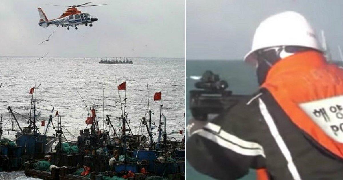 3 169 - 해경 배를 들이받으려 한 中 '불법' 조업 어선, 경고사격 대응에 중국 외교가 보인 반응