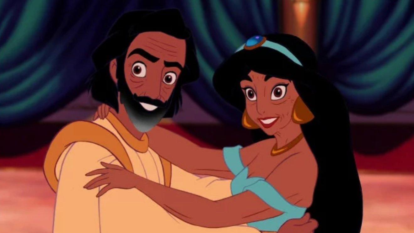 4 61 - ¡Mira Cómo Se Verían Tus Parejas Preferidas De Disney Si Envejecieran!