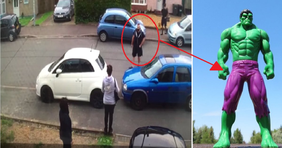 454545 1.png?resize=412,232 - Heavy Lifter Turns Into Hulk And Teaches A Lesson To A Car Owner Who Blocked The Driveway