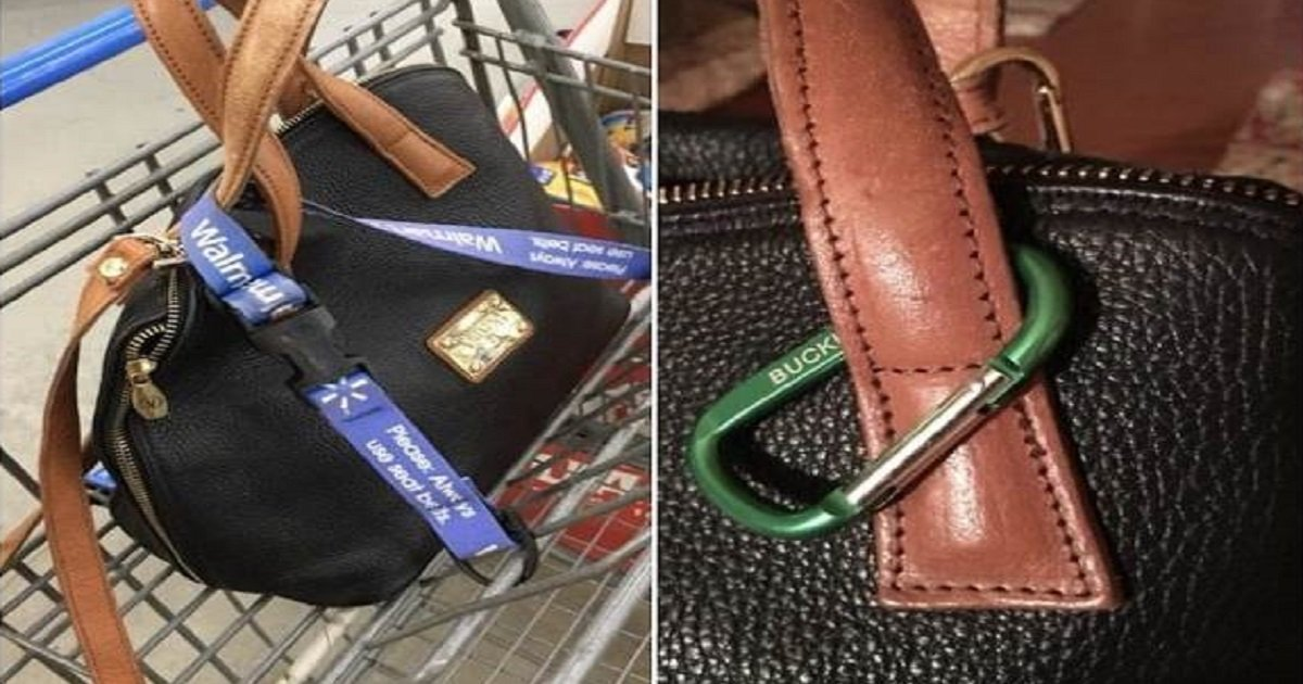 4rdgydfh.jpg?resize=636,358 - Police Urge Women To Buckle Their Purses To Shopping Carts