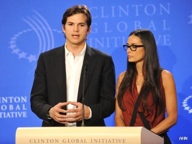 Ashton Kutcher and Demi Moore launch video campaign against slavery and human trafficking