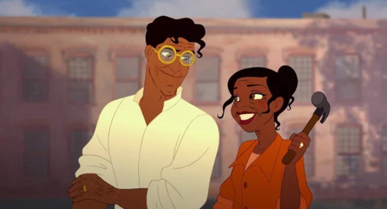 6 41 - ¡Mira Cómo Se Verían Tus Parejas Preferidas De Disney Si Envejecieran!
