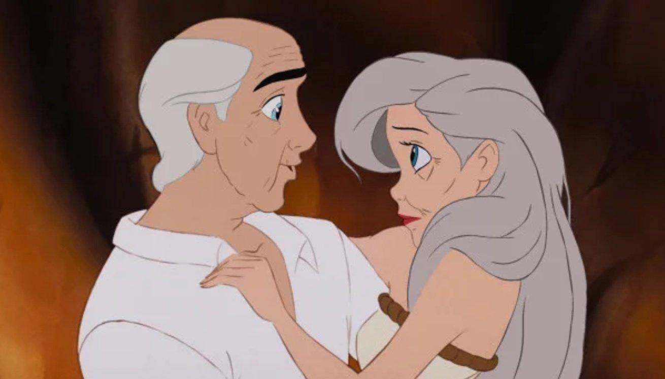 8 28 - ¡Mira Cómo Se Verían Tus Parejas Preferidas De Disney Si Envejecieran!