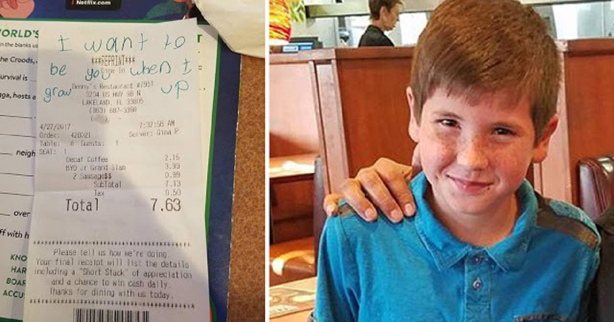 8585 - A Boy's Surprise To A Police Officer Goes Viral