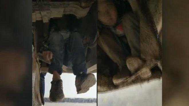 98954033 boy3 - 돈 벌러 떠난 엄마아빠 보러...질주하는 버스 차체 바닥에 매달려 '80km'를 버틴 중국의 두 어린이