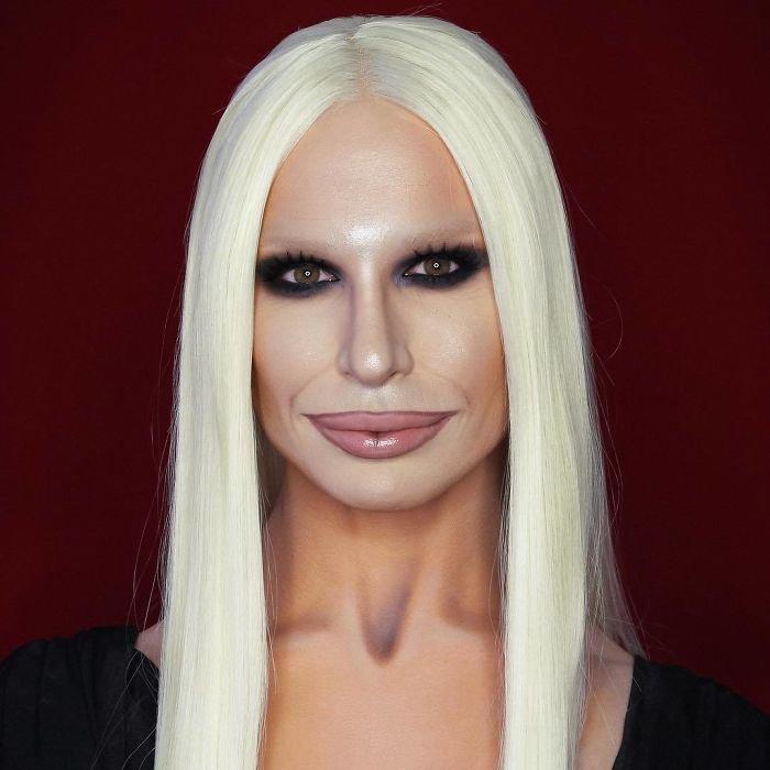 BWdACVpl2xl png  700 - Jovem consegue se transformar em qualquer celebridade apenas com maquiagem