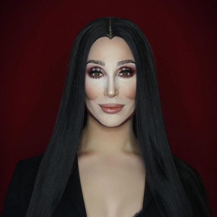 BacCTS5FGJz png  700 - Jovem consegue se transformar em qualquer celebridade apenas com maquiagem
