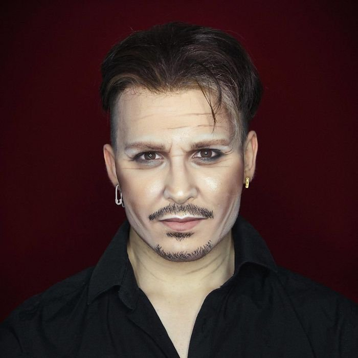 BbkPVfNlDMj png  700 - Un joven puede transformarse en cualquier celebridad solo con maquillaje