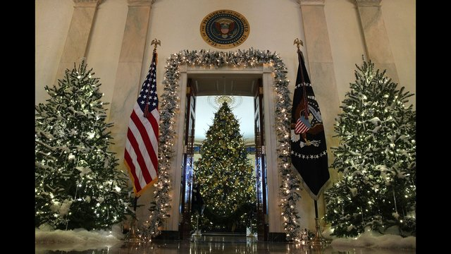 GettyImages 880221586 1511801874431 4563838 ver1.0 640 360 - White House Unveils 2017 Christmas Decorations & the Result is Truly gorgeous