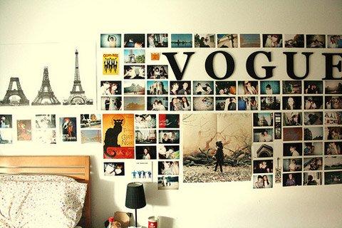NiceWallSteckers Interior design018 - 壁さえあればOK!写真の飾り方