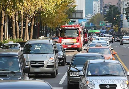 소방차 과태료 연합뉴스에 대한 이미지 검색결과