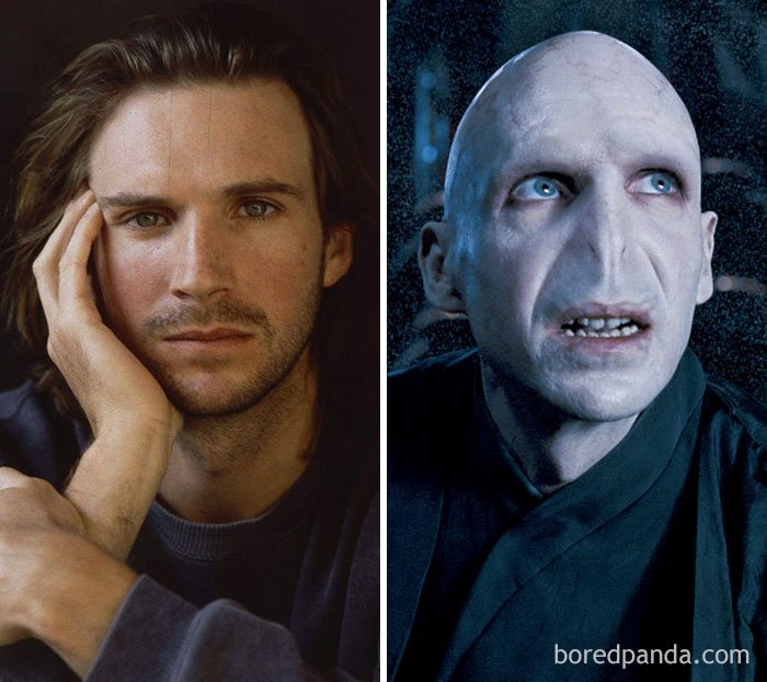 actors special effects makeup before after 101 5a0d66264b176  700 - 30 Amazing Photos Of Actors Before And After Movie-Makeup