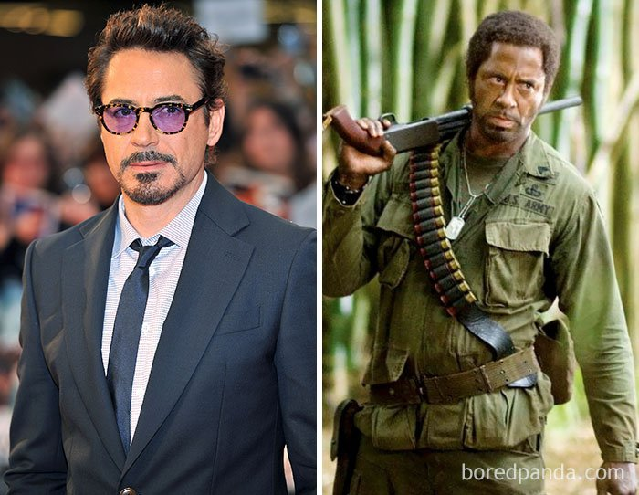 Robert Downey Jr - Kirk Lazarus (Tropic Thunder)