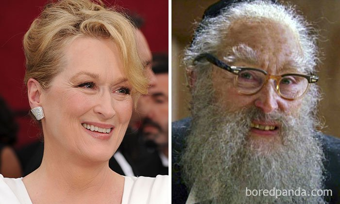 Meryl Streep - Rabbi (Angels In America)