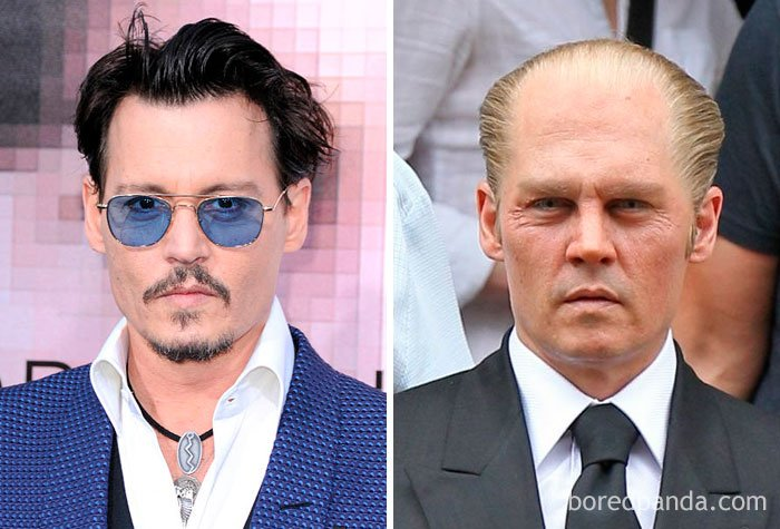 Johnny Depp - James