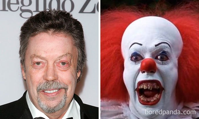 Tim Curry - Pennywise (It, 1990)