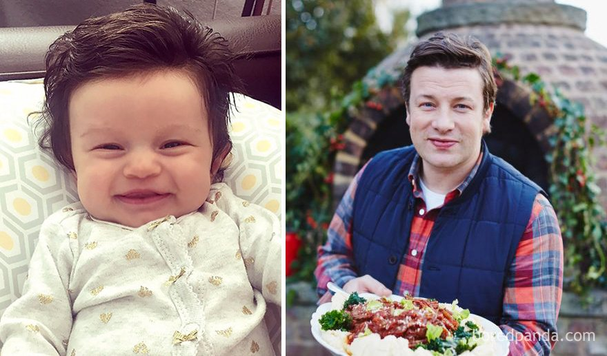 babies look like celebrities lookalikes 103 - 30 Babies Who Exactly Look Like Famous Celebrities, But Not Related