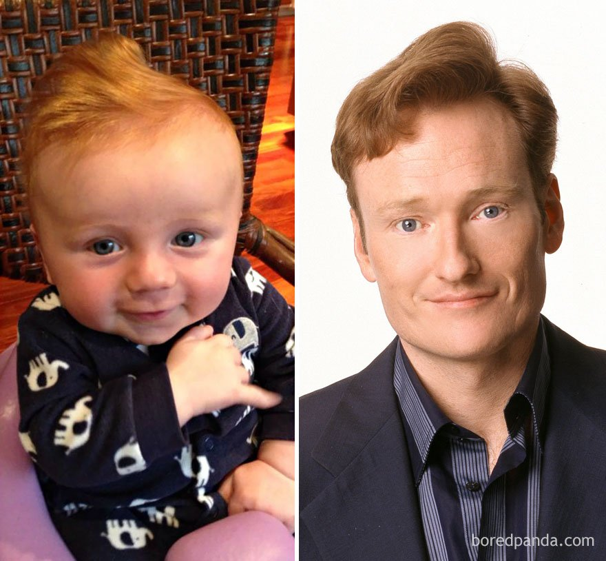 babies look like celebrities lookalikes 106 - 30 Babies Who Exactly Look Like Famous Celebrities, But Not Related