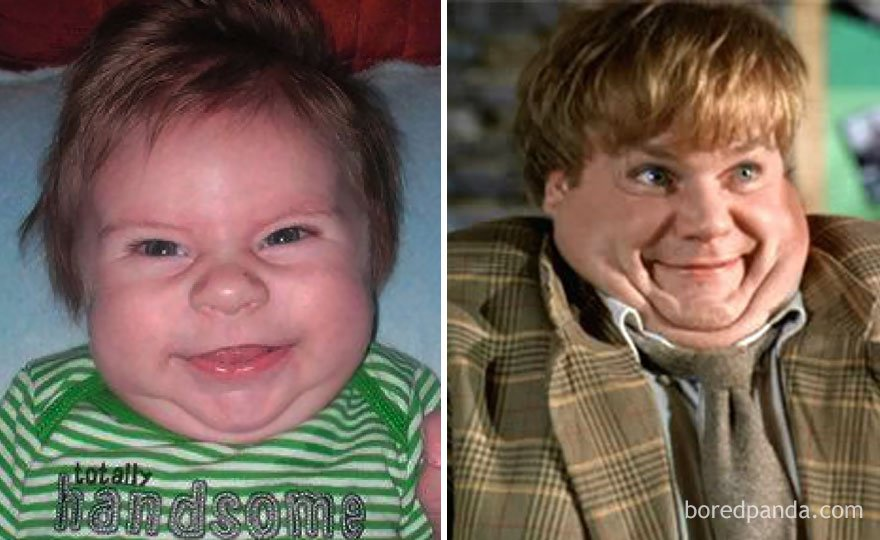 babies look like celebrities lookalikes 107 - 30 Babies Who Exactly Look Like Famous Celebrities, But Not Related