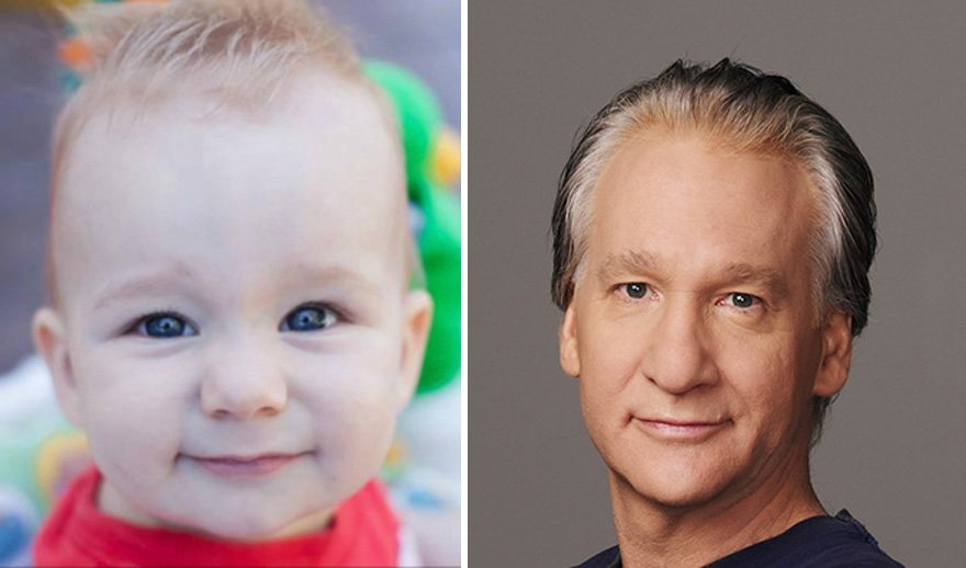 babies look like celebrities lookalikes 22 583be60eb4fd0  880 - 30 Babies Who Exactly Look Like Famous Celebrities, But Not Related