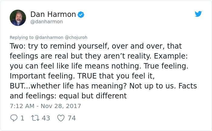dealing depression answer dan harmon rick and morty 3 - Girl Requests How To Tackle Depression, Not Expecting Daniel Harmon Would Respond