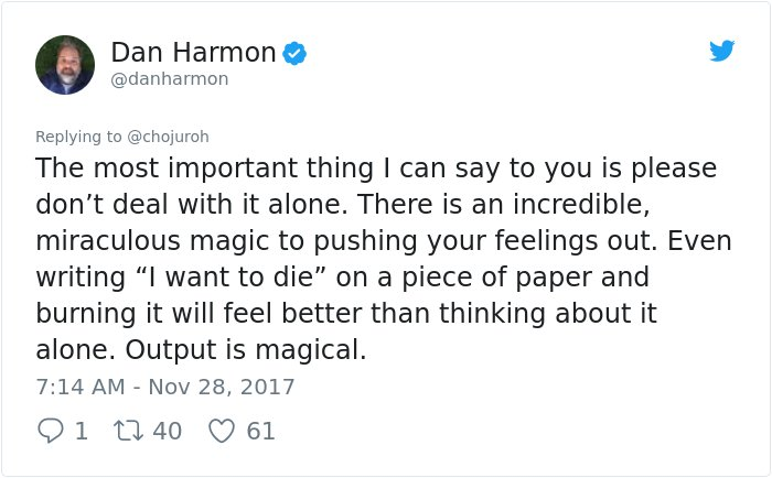 dealing depression answer dan harmon rick and morty 4 - Girl Requests How To Tackle Depression, Not Expecting Daniel Harmon Would Respond