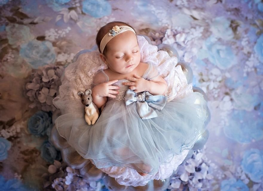 disney babies belly beautiful portraits 5 5978926043ab1  880 - Disney Princess Themed Baby Photoshoot Has Taken The Internet By Storm
